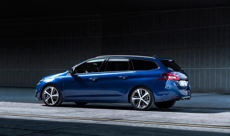 Foto Exteriores Peugeot 308 Sw Gt Dos Volumenes 2015