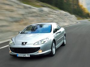 Foto Delantero Peugeot 407 Cupe 2007