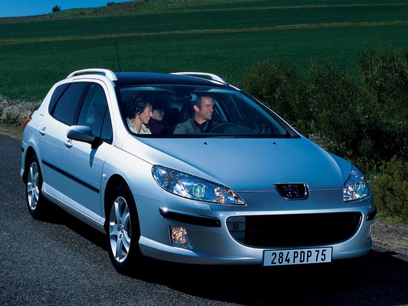 Foto Delantero Peugeot 407 Familiar 2007