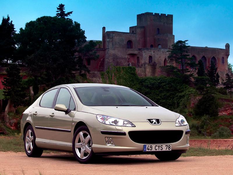 Foto Delantero Peugeot 407 Sedan 2007