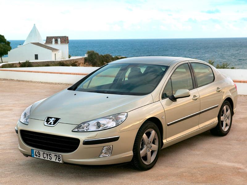 Foto Lateral Peugeot 407 Sedan 2007