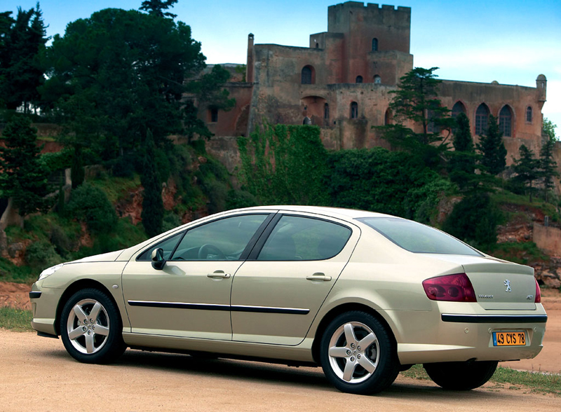 Foto Trasero Peugeot 407 Sedan 2007