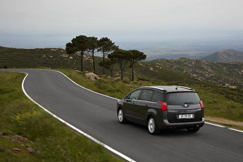 Peugeot 5008, prueba general