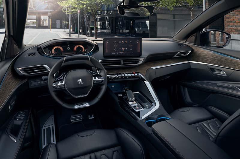 Foto Interiores Peugeot 5008 Monovolumen 2020