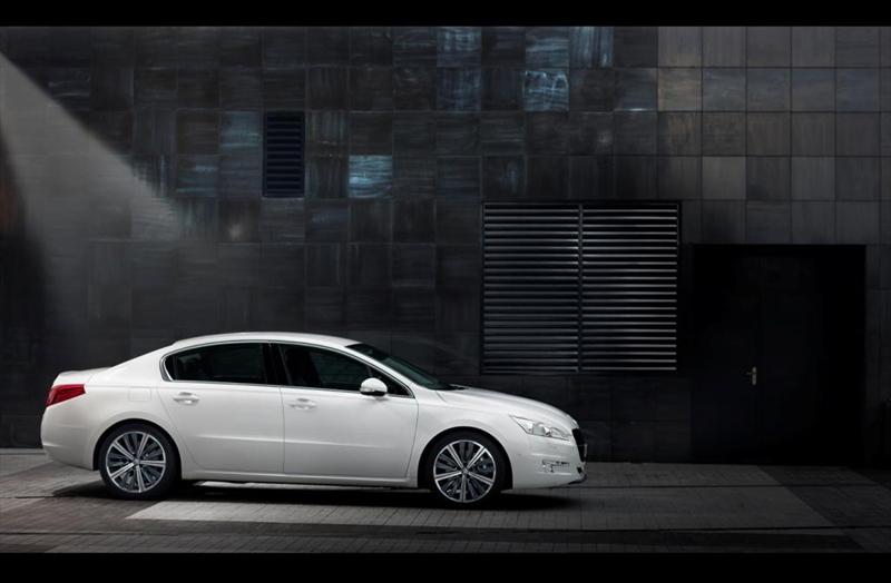 Foto Perfil Peugeot 508 Berlina 2010