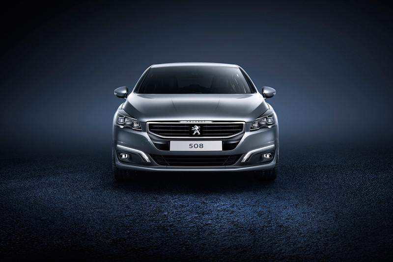 Foto Delantera Peugeot 508 Berlina 2014
