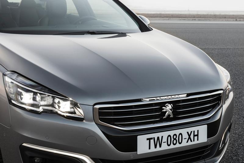 Foto Detalles (11) Peugeot 508 Berlina 2014