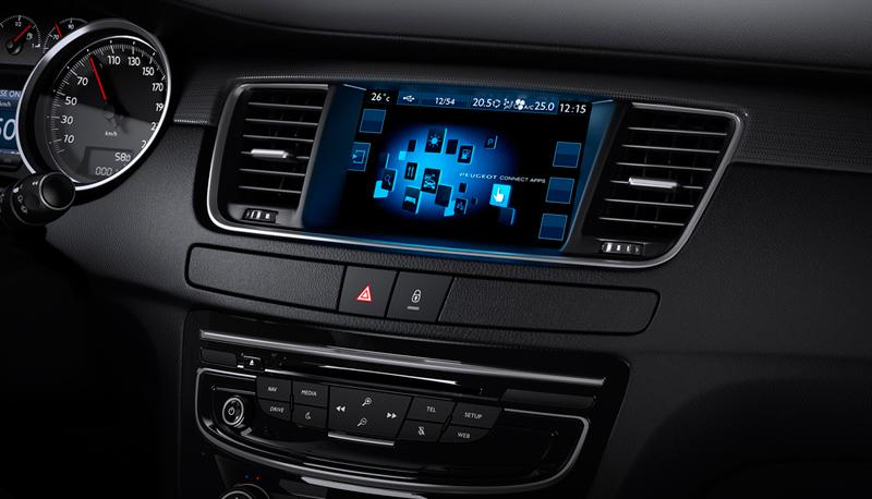 Foto Interiores (1) Peugeot 508 Berlina 2014