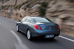 Foto Exteriores (9) Peugeot 508 Sedan 2010