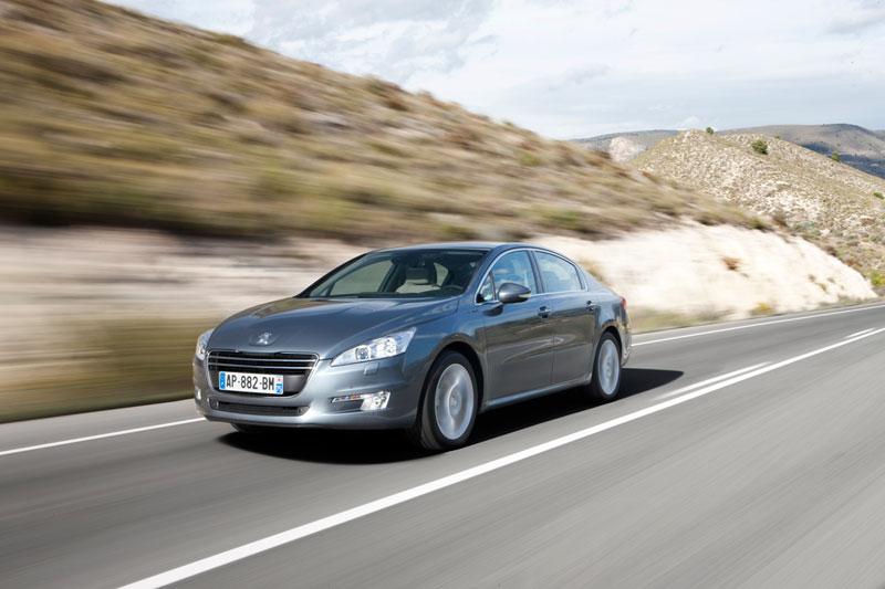 Prueba Peugeot 508 2011