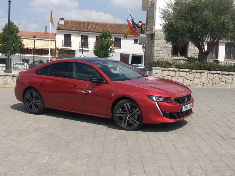 Foto Exteriores Peugeot 508 Sedan 2018