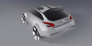 Foto Diseño (4) Peugeot 508-rxh Familiar 2011