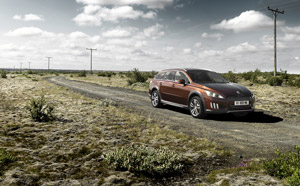 Foto Exteriores (7) Peugeot 508-rxh Familiar 2011
