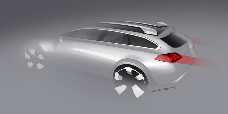 Foto Diseño (2) Peugeot 508-rxh Familiar 2011