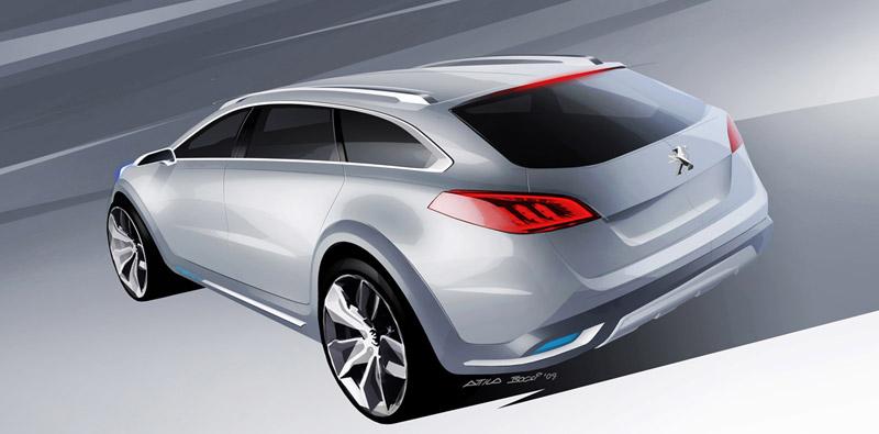 Foto Diseño (3) Peugeot 508-rxh Familiar 2011