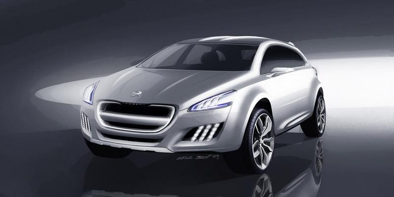 Foto Diseño Peugeot 508-rxh Familiar 2011
