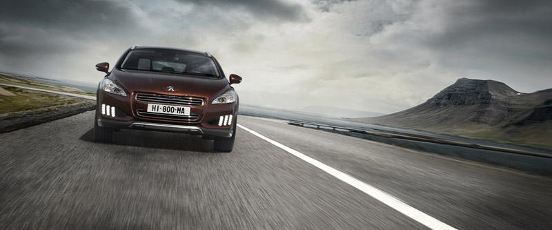 Foto Frontal Peugeot 508-rxh Familiar 2011