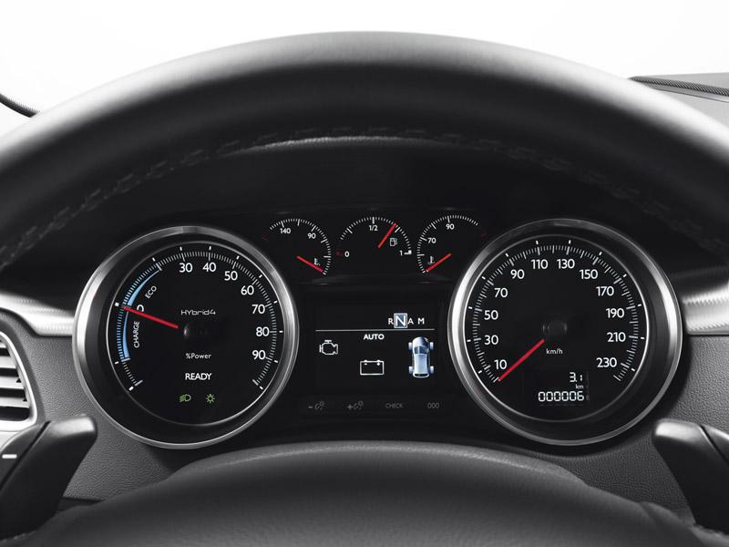 Foto Interiores (3) Peugeot 508-rxh Familiar 2011