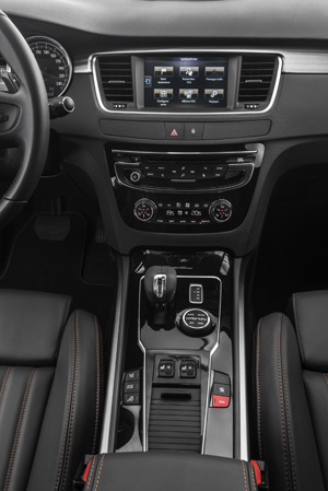 Foto Interior Peugeot 508-rxh Familiar 2014