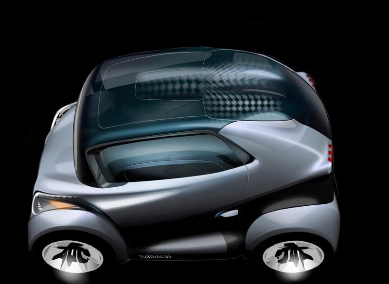 Foto Peugeot Bb1 Electrico 37 Peugeot Bb1 Concept 2009