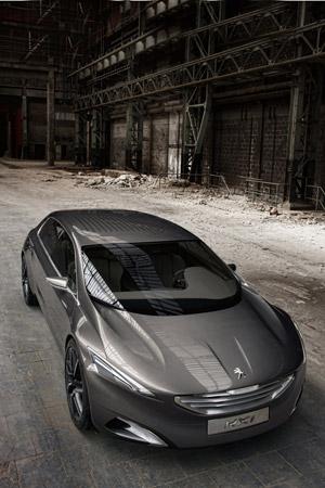 Foto Delantera Peugeot Hx1 Concept 2011