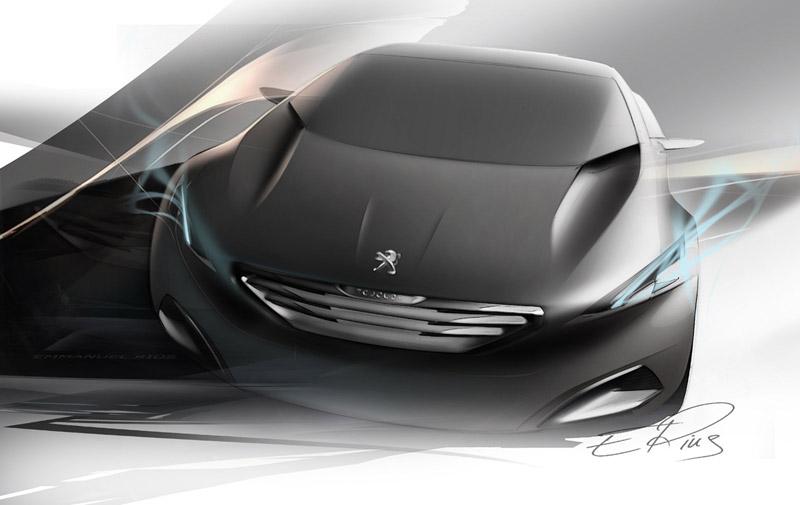 Foto Diseno Peugeot Hx1 Concept 2011