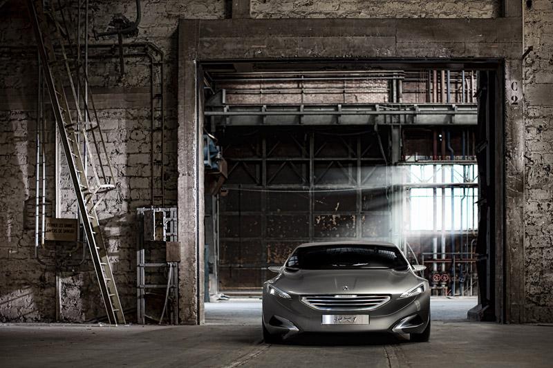 Foto Frontal Peugeot Hx1 Concept 2011