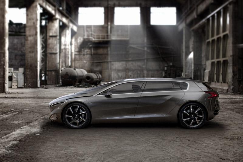 Foto Perfil Peugeot Hx1 Concept 2011