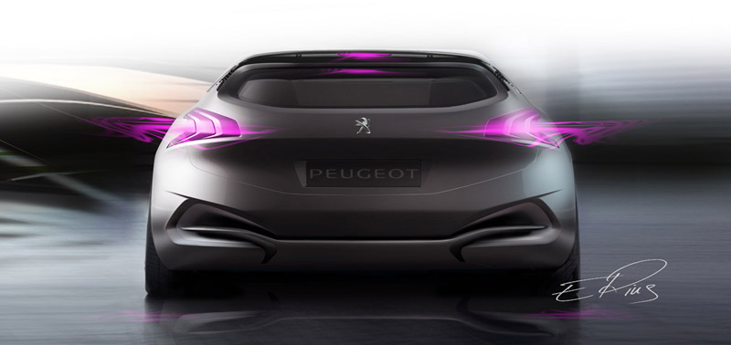 Foto Trasera Peugeot Hx1 Concept 2011