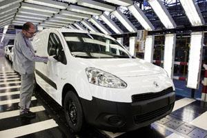 Foto Perfil Peugeot Partner-electric Comercial 2014