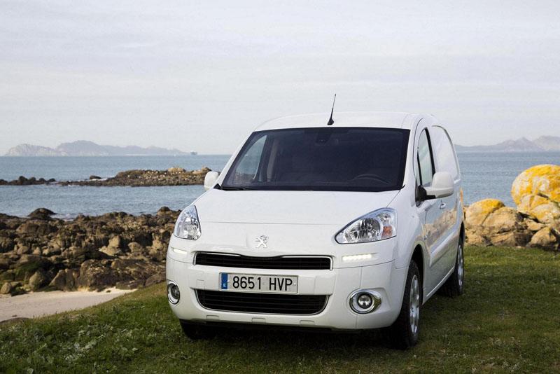Foto Delantera Peugeot Partner-electric Comercial 2014