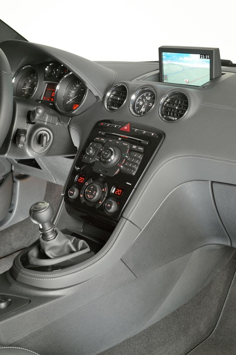 Foto Interiores Peugeot Rcz Cupe 2013
