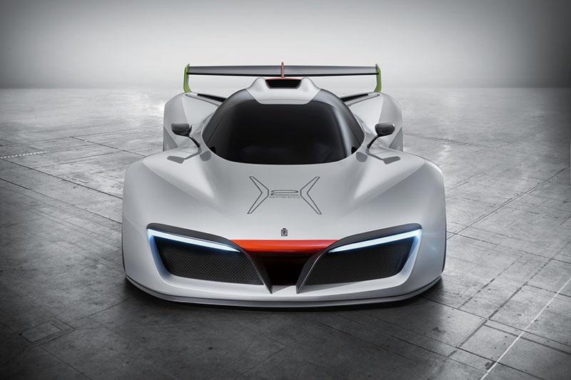 Foto Delantera Pininfarina Pininfarina H2 Speed Prototipo 2016