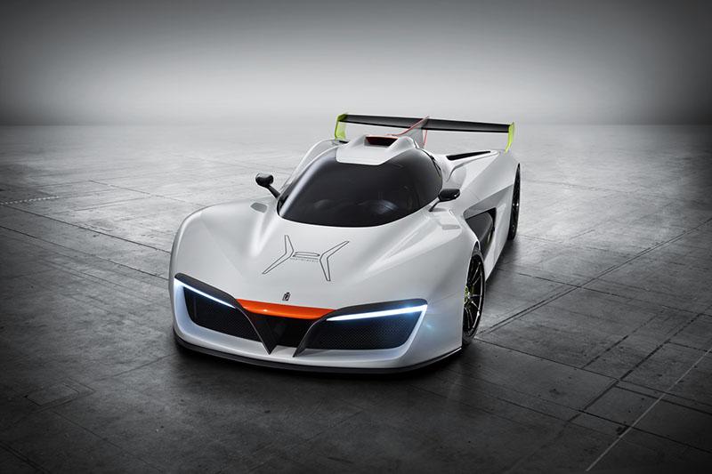 Foto Exteriores Pininfarina Pininfarina H2 Speed Prototipo 2016