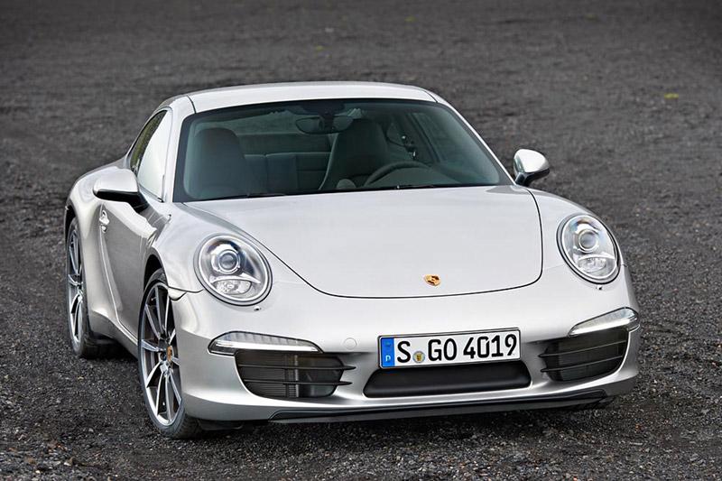 Foto Delantera Porsche 911 Cupe 2011