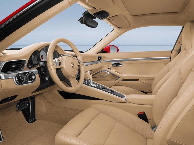 Foto Interiores Porsche 911 Cupe 2011