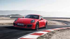 Foto Delantera Porsche 911-gts Cupe 2017