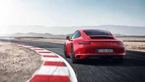 Foto Trasera Porsche 911-gts Cupe 2017