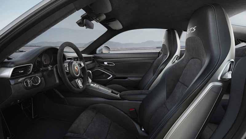 Foto Interiores Porsche 911 Gts Cupe 2017