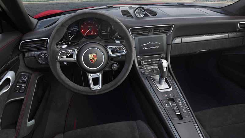 Foto Salpicadero Porsche 911 Gts Cupe 2017