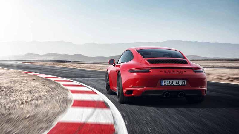 Foto Trasera Porsche 911 Gts Cupe 2017