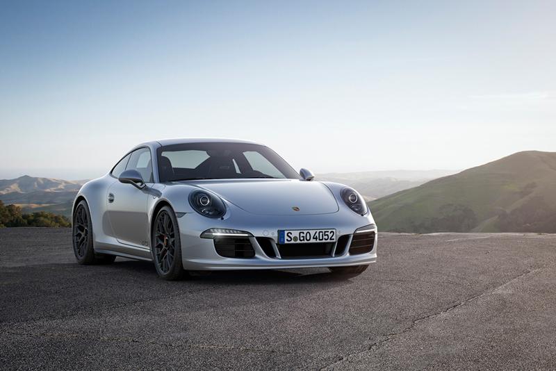 Foto Perfil Porsche 911 Carrera Gts Cupe 2014