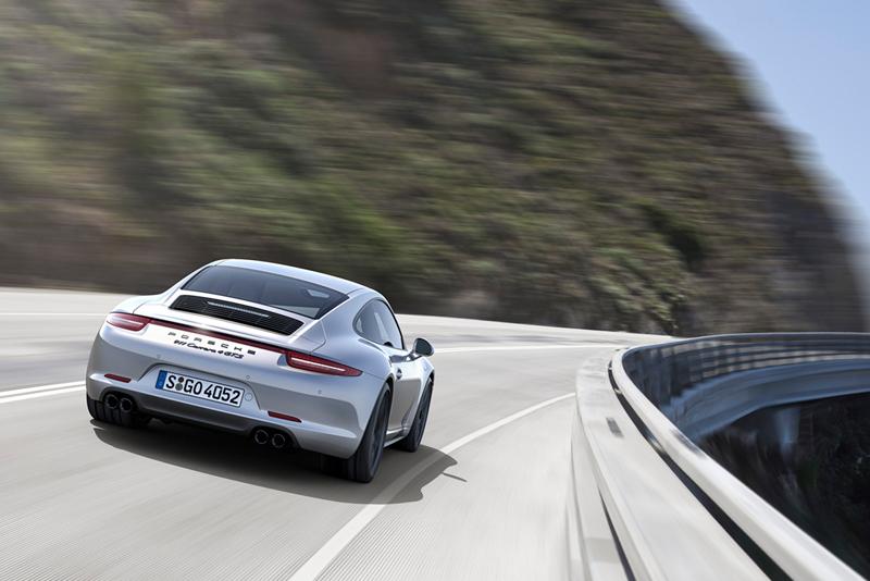 Foto Trasera Porsche 911 Carrera Gts Cupe 2014
