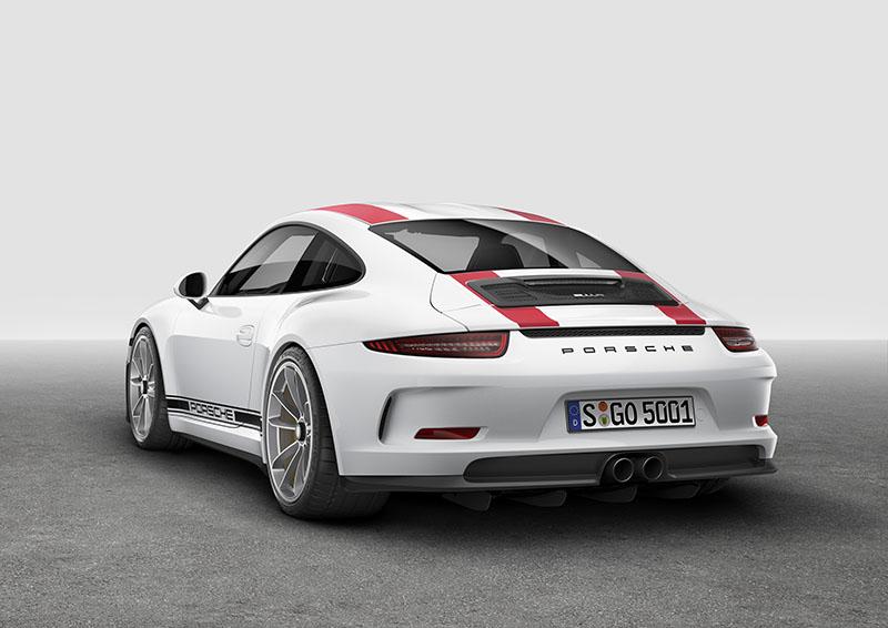 Foto Exteriores Porsche 911 R Cupe 2016