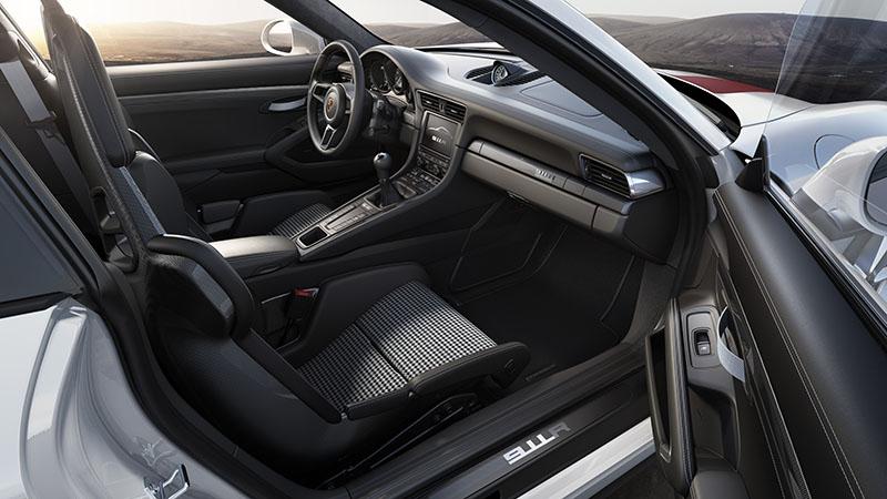 Foto Interiores Porsche 911 R Cupe 2016