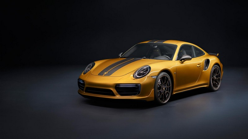 Foto Exteriores Porsche 911 Turbo S Exclusive Series Cupe 2017