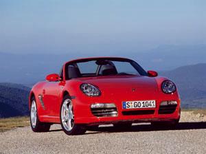 Foto Delantero Porsche Boxster Descapotable 2007