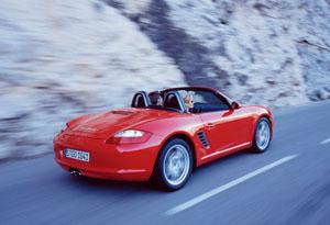 Foto Trasero Porsche Boxster Descapotable 2007