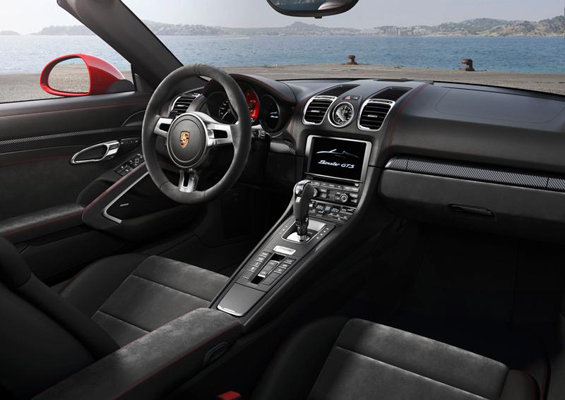 Foto Salpicadero Porsche Boxster Gts Descapotable 2014