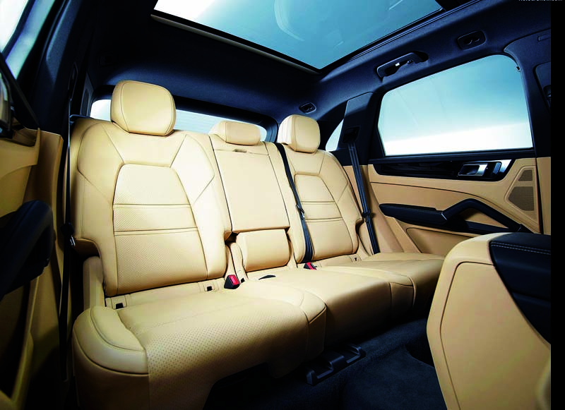 Foto Interiores Porsche Cayenne Suv Todocamino 2017